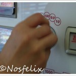 Japanese Fast Food Restaurants in Tokyo| Nakau; ticket vending machine, payment