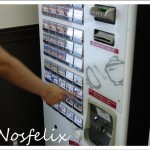 Japanese Fast Food Restaurants in Tokyo| Nakau; ticket vending machine, how to order